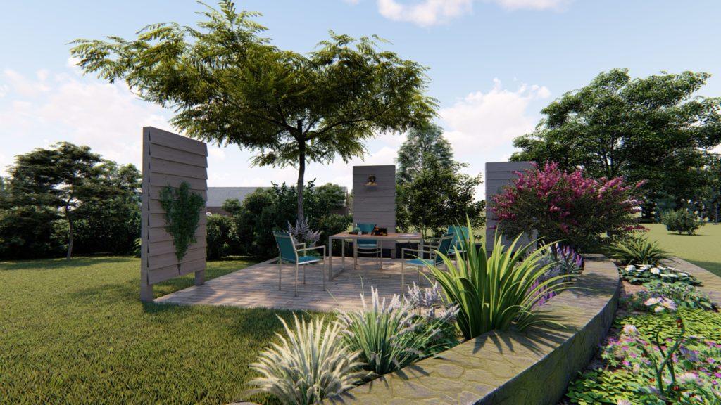 visuel concetion de jardin la charmille paysagiste