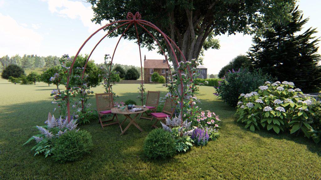 visuel projet de jardin la charmille paysagiste
