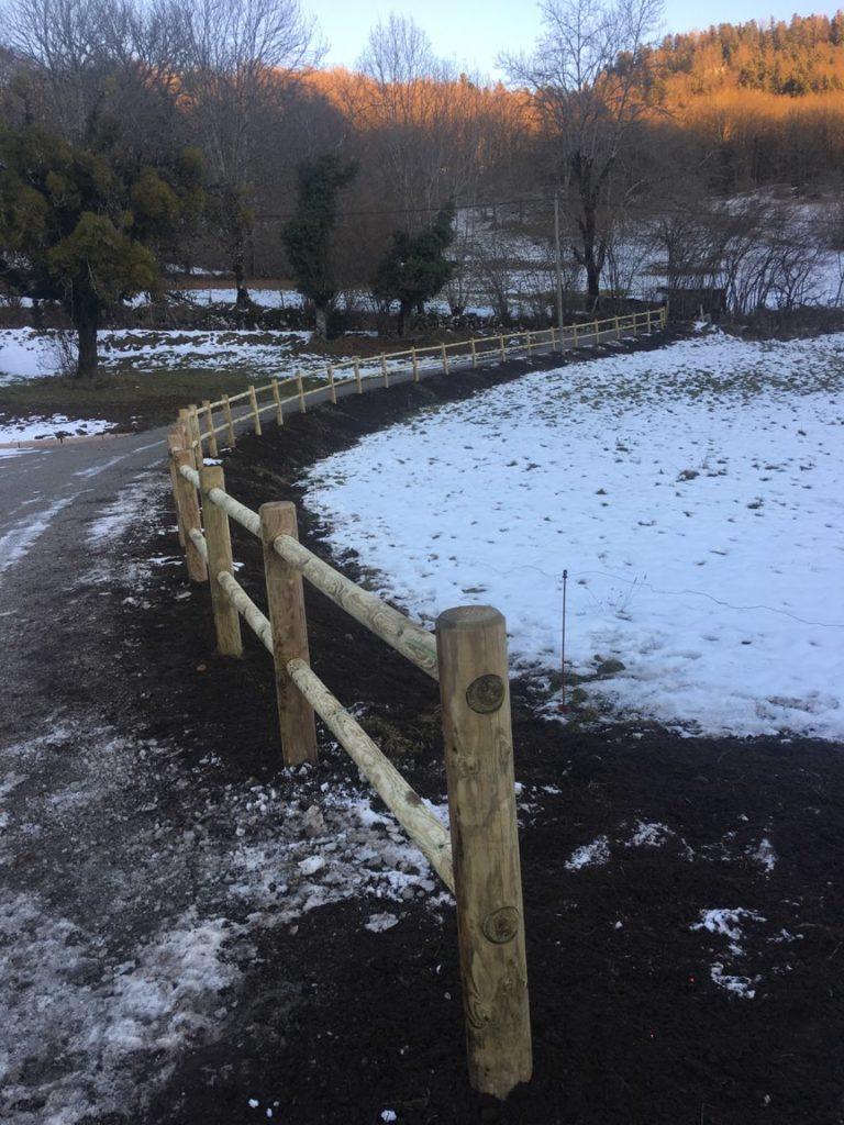 clôture bois la charmille paysagiste mauriac saint bonnet de salers